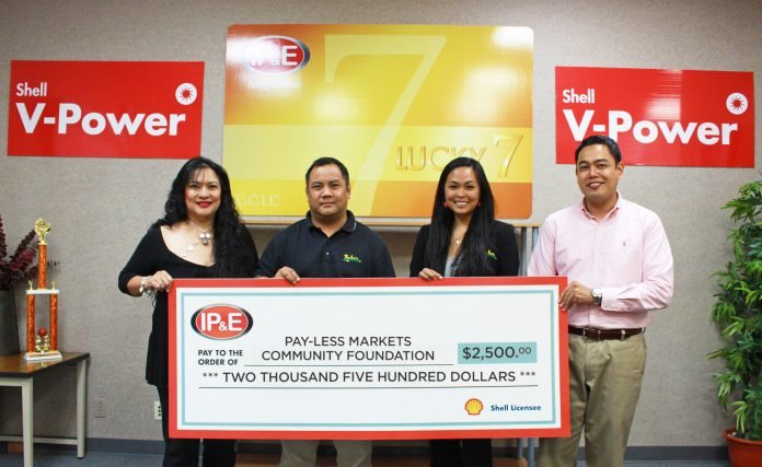 IPE_donates_to_Pay-Less_Community_Foundation