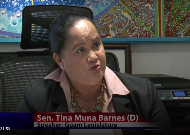 Guam Film Office Speaker Tina Muna Barnes