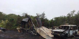 Chalan Ibang house fire