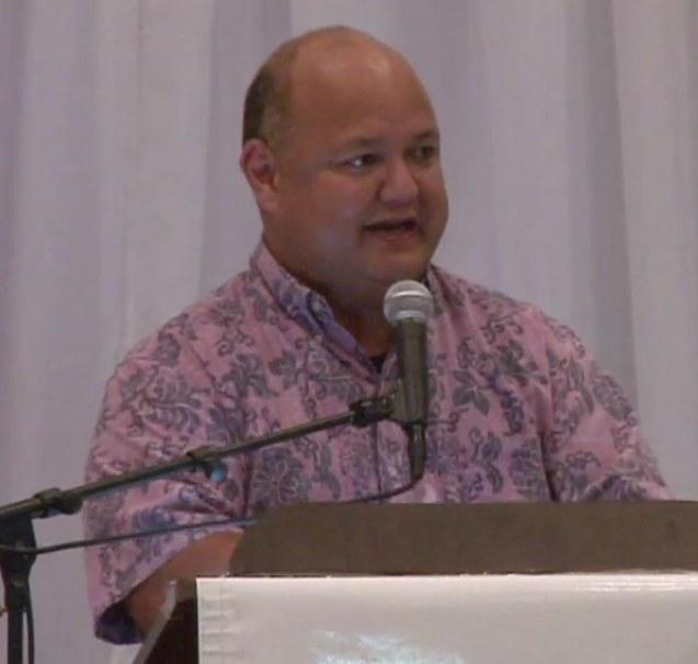 Jon Fernandez at the Guam Chamber