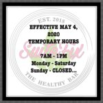 Temporary hours / recovery hours