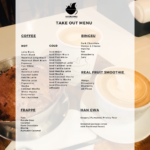 MAD BINGSU current take out menu