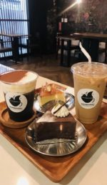 Gourmet coffee beverages & delicious cakes!