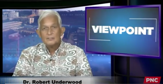 Viewpoint with Dr. Robert Underwood